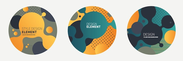Template for the design of a logo flyer or presentation