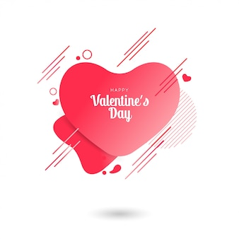 템플릿 디자인 발렌타인 판매 심장 배너