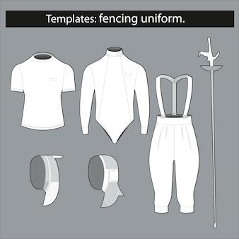 Шаблон: оборудование для фехтования