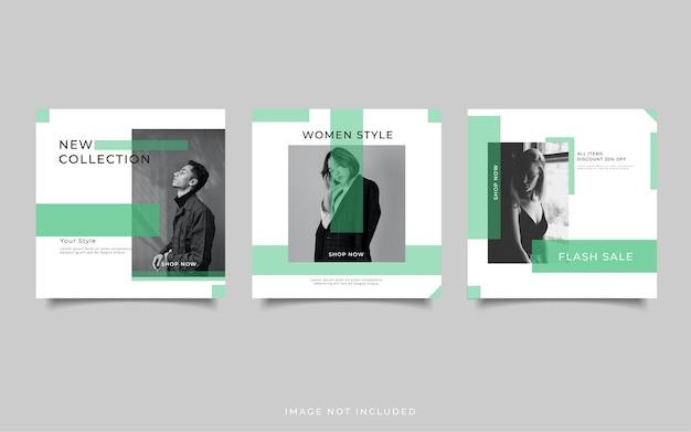 Template fashion sale social media post