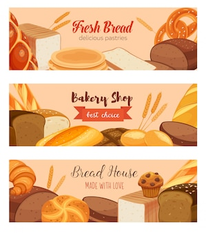 Template food with bread products