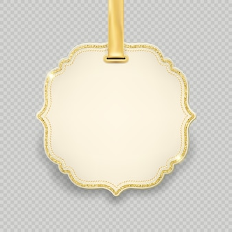 Template label, tag frame decoration for christmas and new year holiday sale shopping promotion. isolated on transparent background.