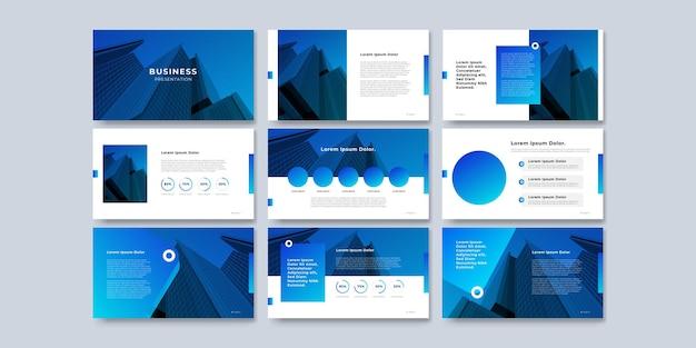 パンフレット、本、雑誌、年次報告書、およびインフォグラフィック要素のデザインを含む会社概要のテンプレートプレゼンテーションデザインとページレイアウトデザイン