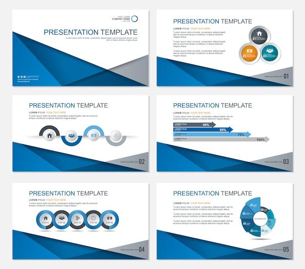 Template presentation slides background design.
