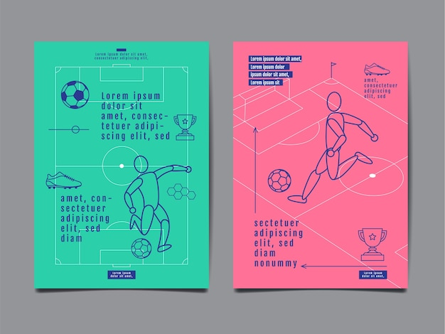 Template sport layout design