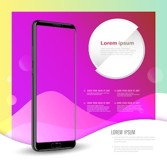 Template technology with smartphone