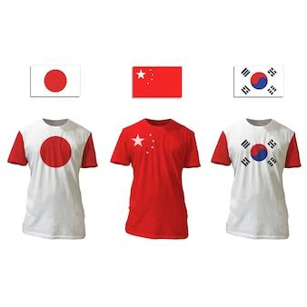 Template textile store cotton shirt