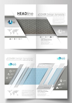 Templates for brochure, magazine, flyer, booklet