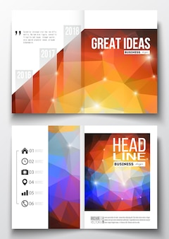 Templates for brochure