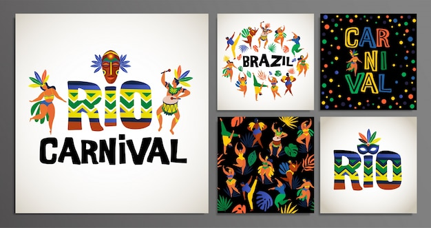 Templates for carnival concept