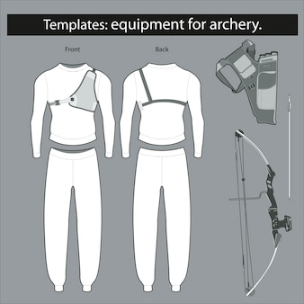 Templates: equipment for archery