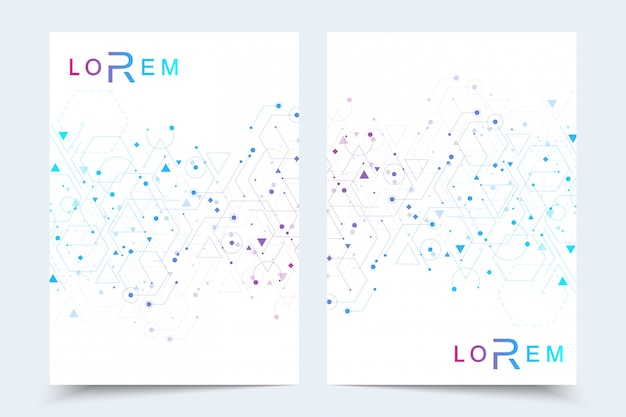 Шаблоны для брошюры журнал листовка листовка обложка буклета годовой отчет.