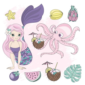 Temptress mermaid princess vacation