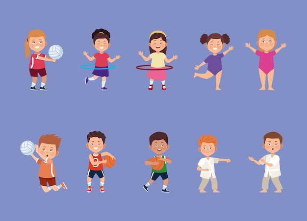 Ten kids activities