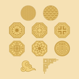 10 가지 한국식 세트 패턴