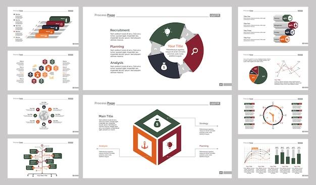 Десять шаблонов логистических слайдов