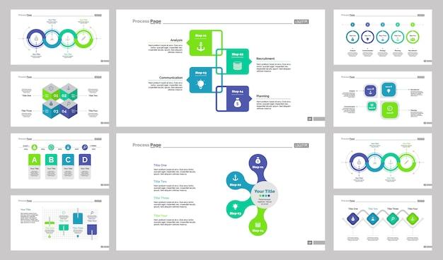 Set di modelli di diapositive di gestione