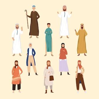 Ten muslim community persons group