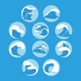 Десять океанских волн