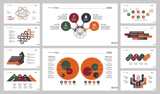 Dieci set di modelli di diapositive di reclutamento