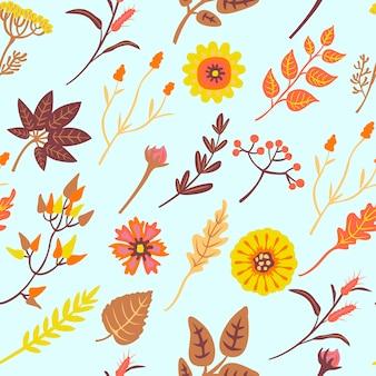 Tender autumnal  pattern.