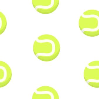テニスボールパターン。スポーツデザイン。
