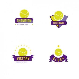 Tennis badges