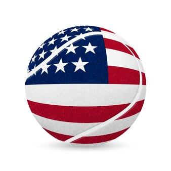 Иллюстрация теннисного мяча