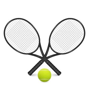 テニスボールのイラスト