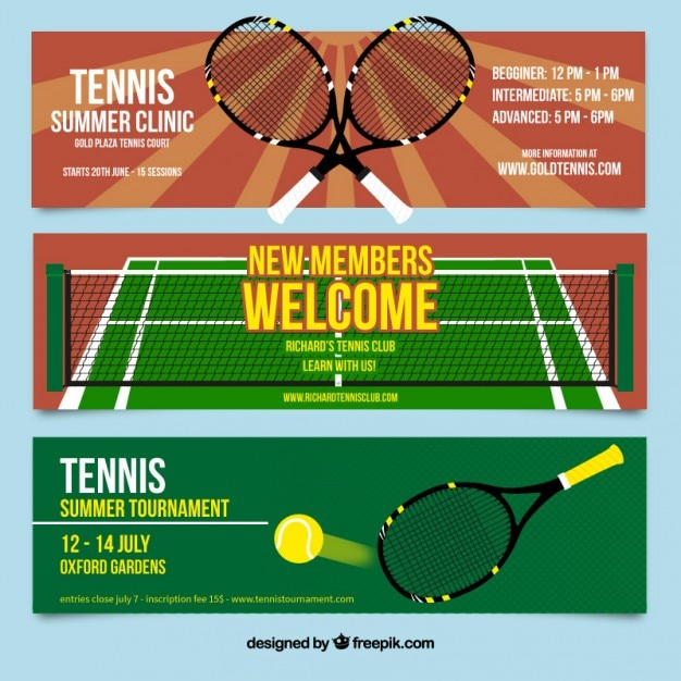 Tennis Flyer Template Free Dolapgnetband