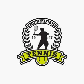 テニスクラブバッジ