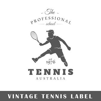 テニスのエンブレム