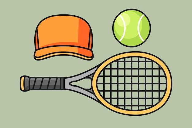 Комплект теннисного инвентаря