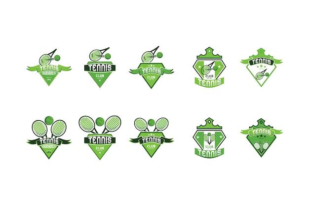 Tennis logo collection