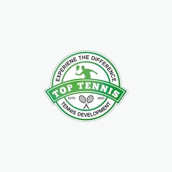 Дизайн логотипа для тенниса