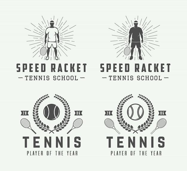 Tennis logos