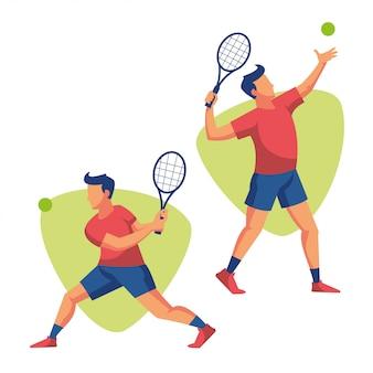 Tennis sport athlete player