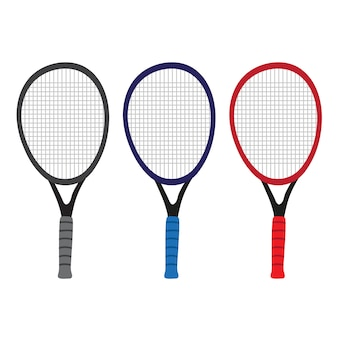 Tennis vector collection design