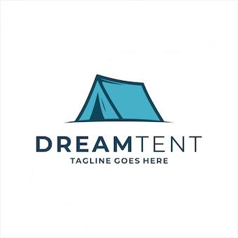 Tent logo template.