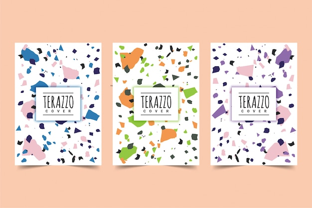 Terazzo cover design