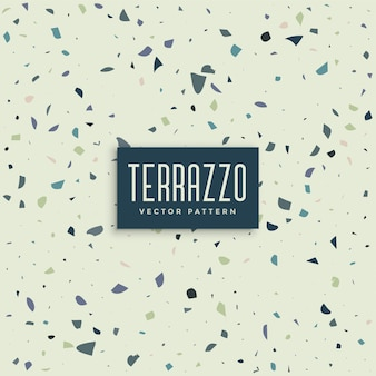 Terrazzo abstract pattern background design