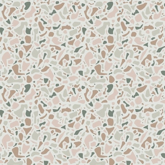 Terrazzo background texture.  seamless pattern. green natural stone, glass, quartz, concrete, marble. classic italian type of floor. terrazzo design.