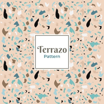 タイルのテラゾ装飾パターン