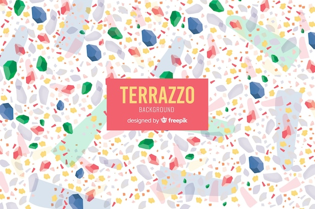 Terrazzo floor background