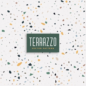 Terrazzo floor texture pattern background