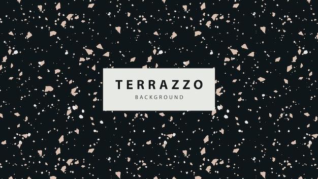 テラゾ床の壁紙