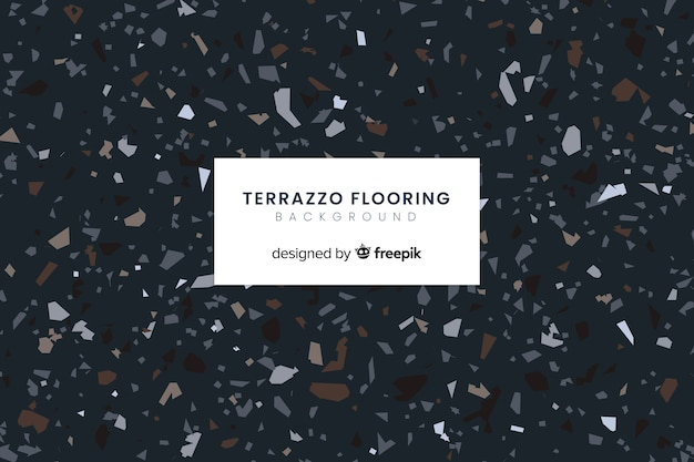 Terrazzo flooring background
