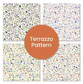Terrazzo pattern floor background.