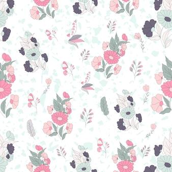 Terrazzo seamless pattern.