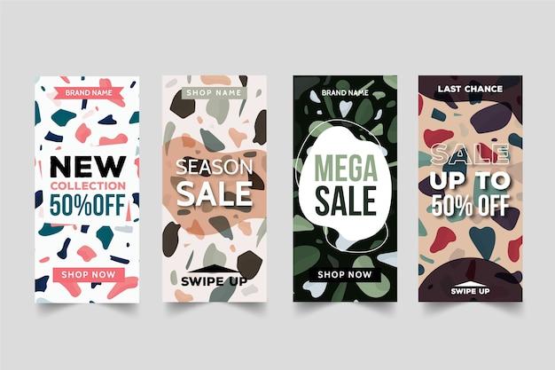 Terrazzo style sale instagram stories